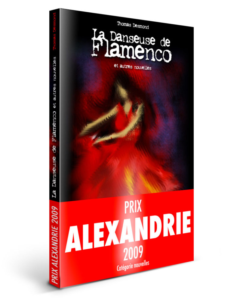 Couverture - La danseuse de flamenco - Thomas DESMOND